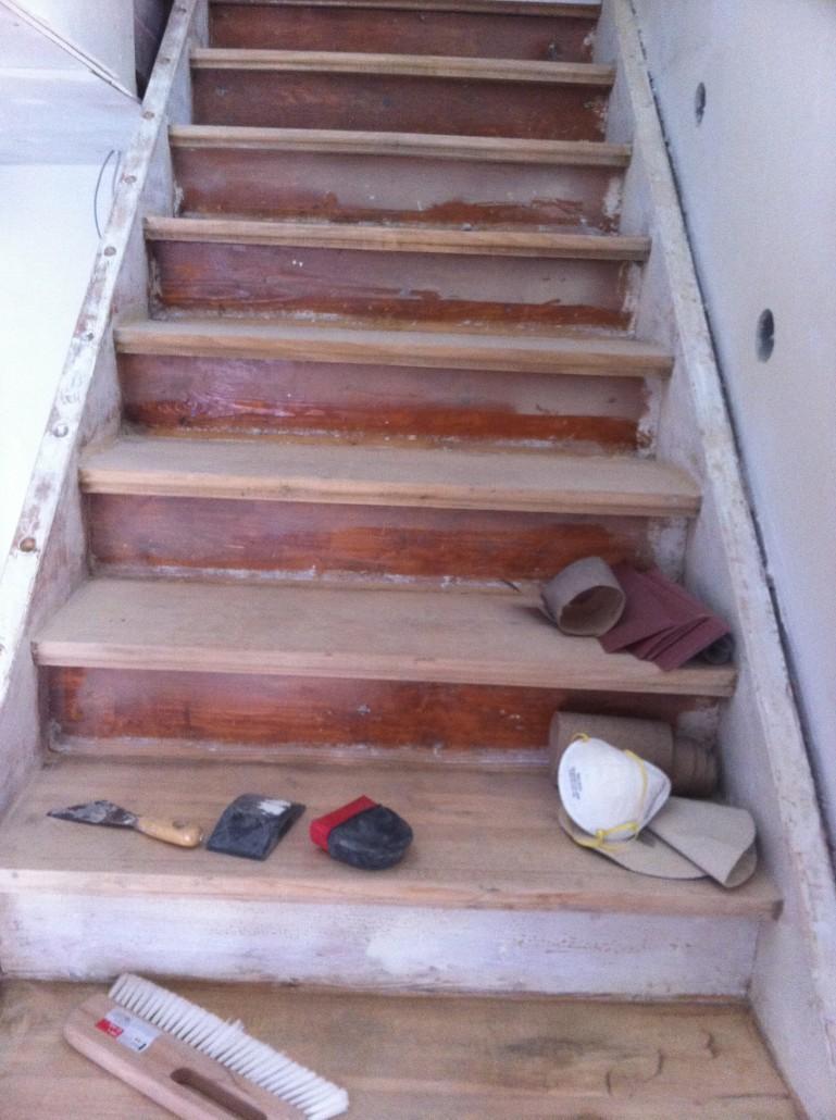 renovierung treppe| fp trockenbau • spanndecken